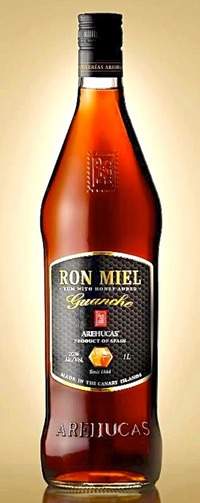 Arehucas ron Miel Bottle-OK