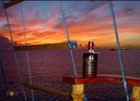 Caribbean sunset and Richland Rum - a perfect pair-RG1
