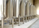 Chalong Bay rum is rested in these stainless steel tanks for 8-12 months before bottling