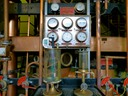 Detail of Neisson copper Savalle still and monitoring equipment old and new.