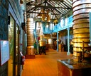 Inside view of Saitn James' Musée de Rhum.  Their presentation of historic stills is the best the Rum Gallery has ever experienced.
