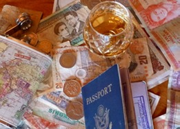 Passport, $$, Flask & Rum 1