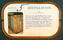 Plaque #5- Altough John Watling's does not distill their own spirits, preferring to purchase from other West Indies sources, the column- and pot-distillates is highly selective in choosing a blended column-disilate and single-barrel pot-distillate.