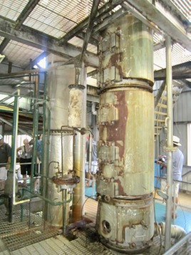 St Lucia's 2 column continuous coffey still