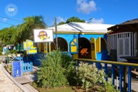 The Mad Mongoose Bar at Falmouth Harbour, Antigua