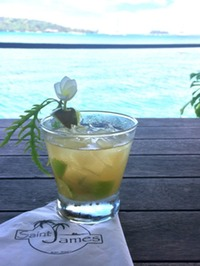 'Ti Punch a la St. James restaurant:bar, Bora Bora